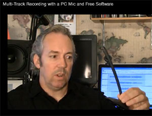 Can You Record a Song With Free Music Recording Software and a Plastic Cheapo PC Microphone?