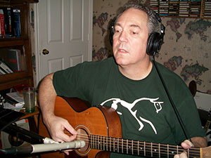 Ken-recording-acoustic guitar