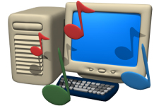 computer music backing tracks for singers