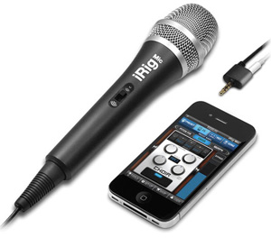 Review of IK Multimedia's iRig Microphone For iPhone, iPad, and iPod Touch