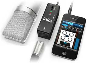 A Mic Preamp for Your iPhone or iPad – IK Multimedia Does it Again