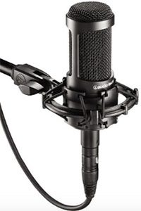 A Sampling of Home Recording Microphones From Audio-Technica