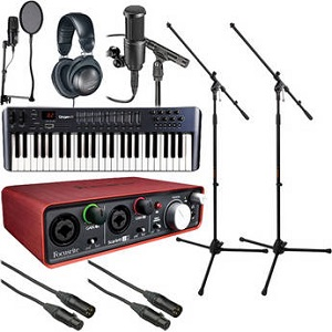 The Home Recording Musicians Starter Bundle