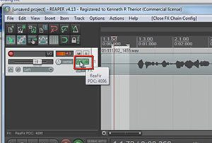 ReaFIR Madness – The Hidden Noise Reduction Tool in Reaper