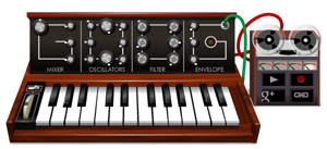 Moog Synthesizer Google Doodle A Multi-Track Recorder