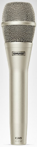 Microphone Used By Glee's Rachel and Blaine at Callbacks in The Breakup Episode – Shure KSM 9