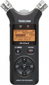 Tascam DR-07 Portable Digital Audio Recorder On Sale