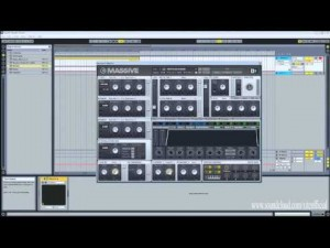 Creating Pre-Chorus Builds Using Native Instruments Massive Synthesizer