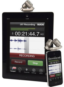 Rode iXY 24-Bit Mic For iPhone and iPad