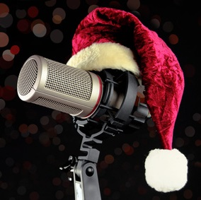 Christmas Microphone