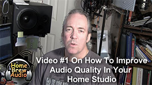Improve The Quality Of The Audio You Record At Home – Tip 1