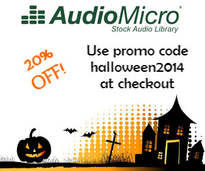 Halloween Sound Effects Promo banner