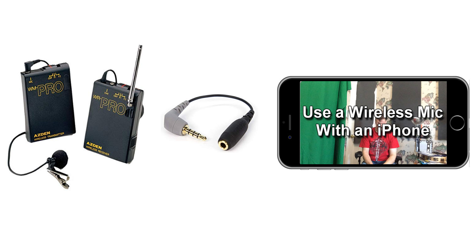Wireless Microphone For iPhone: Use Any Wireless Mic With