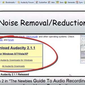 New Noise Reduction Tool In Audacity