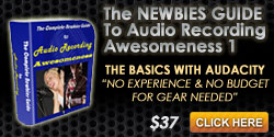 Home Recording Course - Audacity