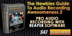 Reaper home recording course