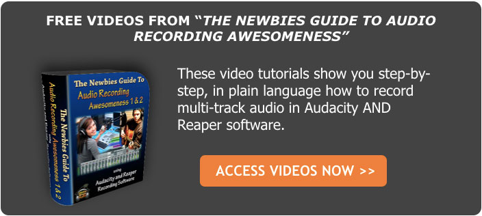free videos from home recording course
