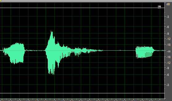audio before normalization
