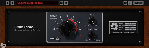 LIttle-Plate reverb plugin