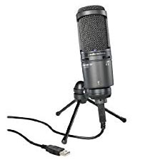 Audio-Technica AT2020 USB mic
