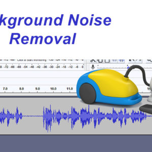 how to get rid of background noise in your audio recording