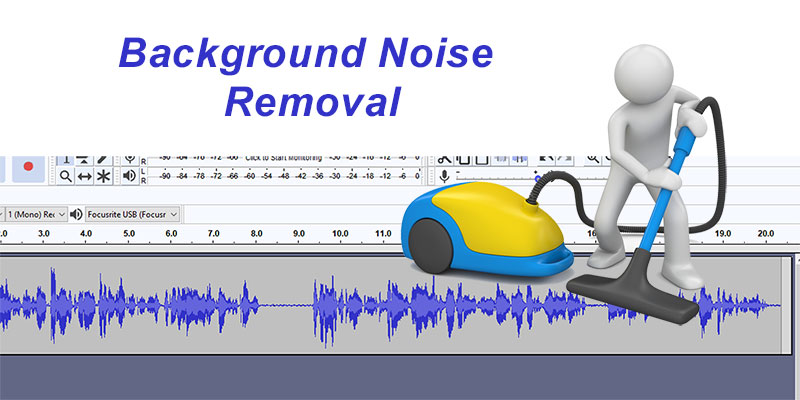 how to get rid of background noise