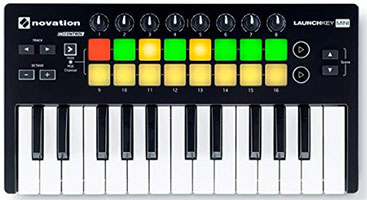 Novation Launchkey MIDI keyboard