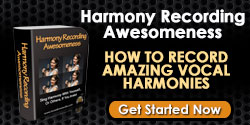 vocal harmony recording course